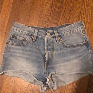 Levi's denim shorts size 3